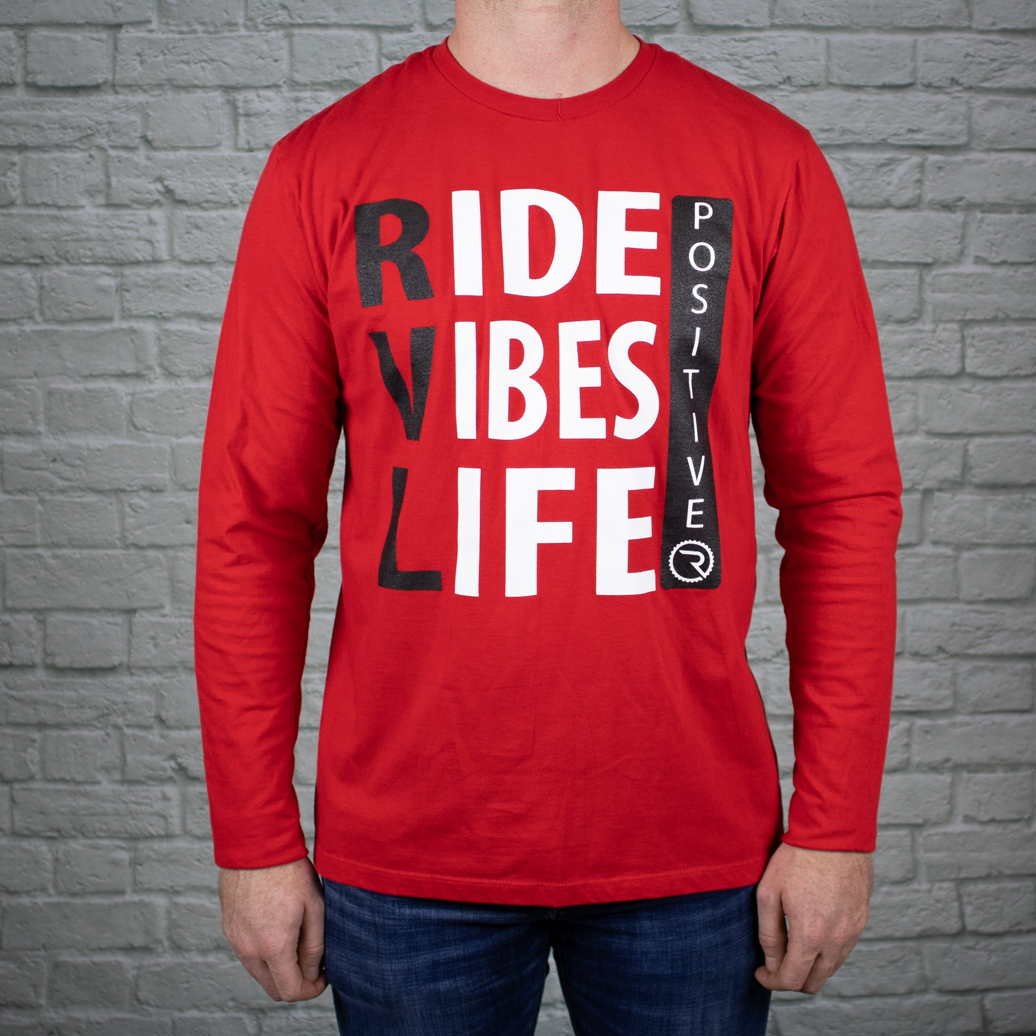 Positive Ride, Vibes, & Life Long Sleeve - Ride Apparel Co.