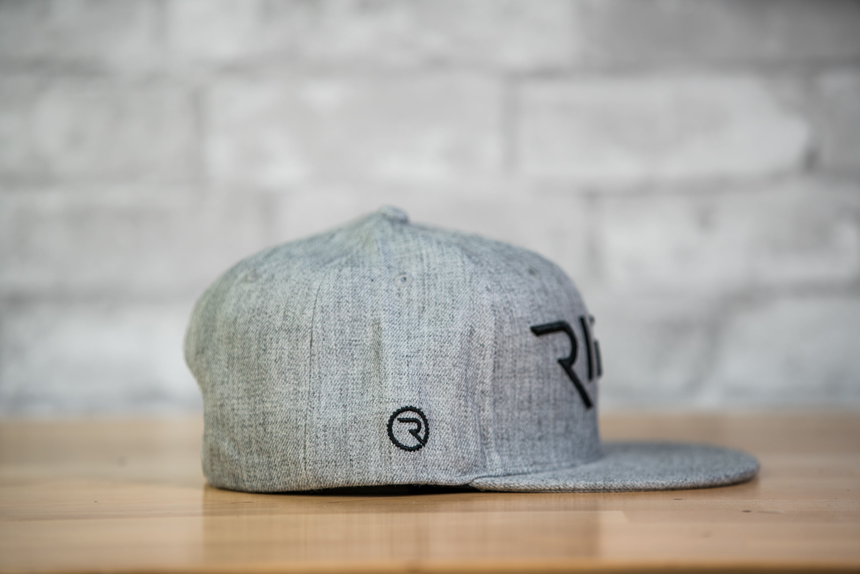 RIDE GREY Snapback Hat - Ride Apparel Co.