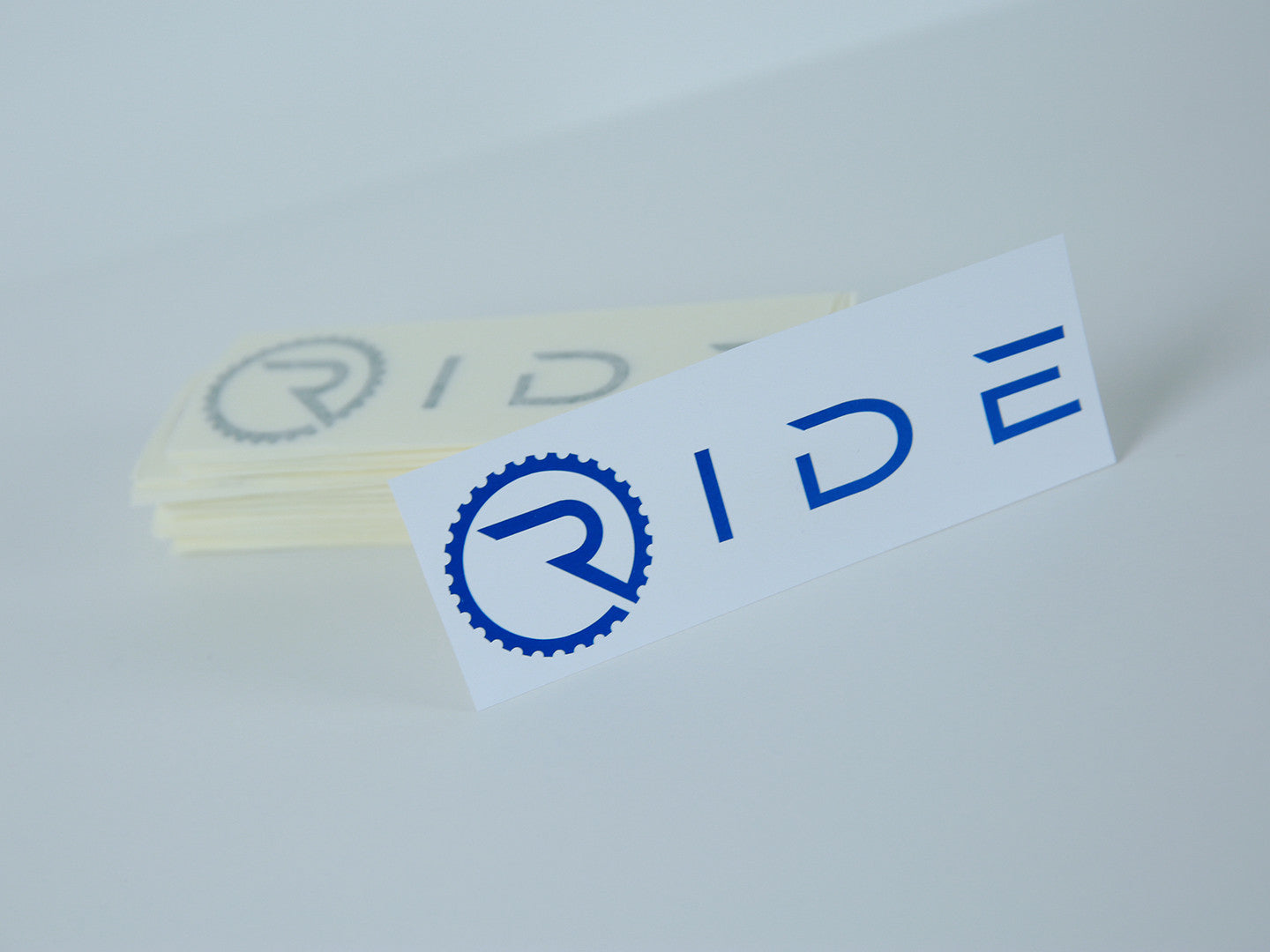 Ride Decal - Reflective Blue - Ride Apparel Co.