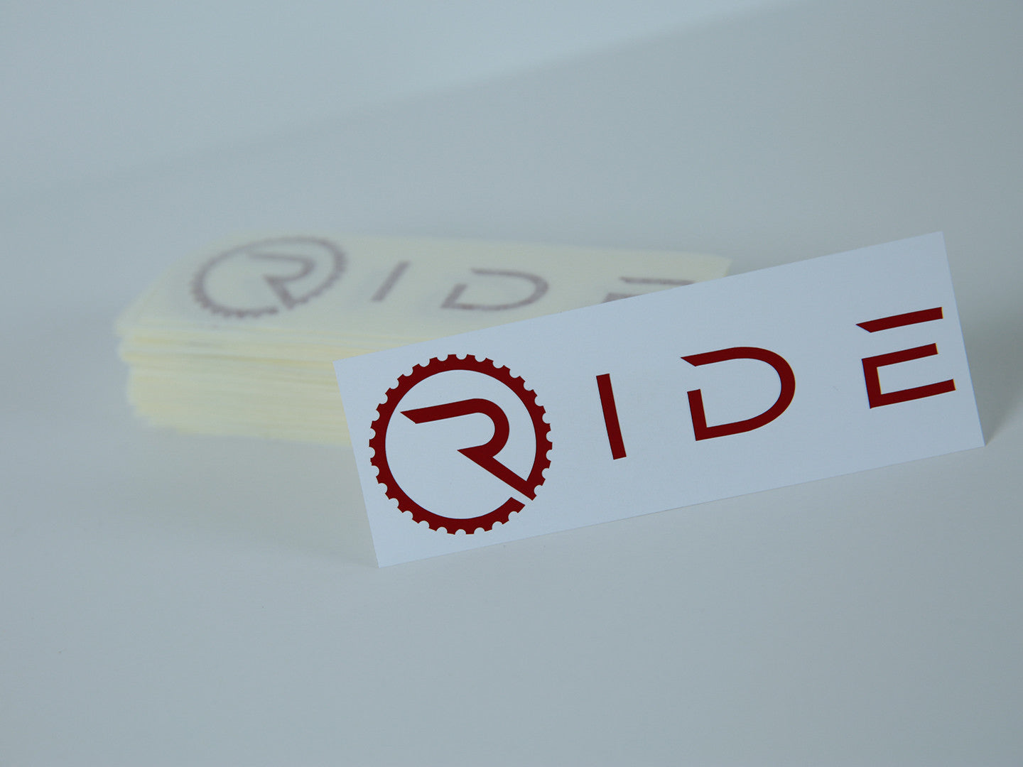 Ride Decal - Reflective Red - Ride Apparel Co.