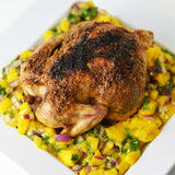 "Coconut Jerk Chicken with Mango Salsa ""Natalie Paramore"" Recipost"