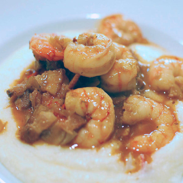 "Magical Shrimp and Gouda Grits Recipost www.welike2cook.com ""We Like to Cook!"""
