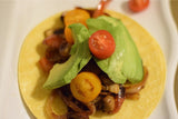 "Mushroom Tacos with Mediterranean Quinoa Salad Vegan, vegetarian, dairyfree, paleo, plantbased, registereddietitian, quickandeasy ""Pantry Doctor"" Recipost"