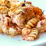 "Italian Chickin Pastina pasta, giada, bread, crumbs ""Method to my meals"" Recipost Reciposter"