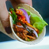 "Korean Pulled Pork Tacos ""The Defined Dish"" Recipost kimchi"