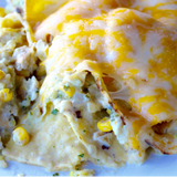 "Chicken Enchilada Casserole ""Method to my Meals"" Recipost casserole / Chicken / enchilada / Healthy / salsa / tex-mex"