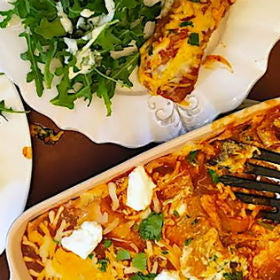 Skinny Taste Chicken Enchilada Houston food blogger recipost Food life love