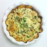 "Sweet Potato Crust Quiche ""The Dessert Dietitian"" Recipost Reciposter ""Denver food blogger"""