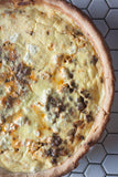 "Savory Lamb Quiche Lamb, Quiche, Feta, Eggs ""The White Radish"" Recipe ""Seattle Food blogger"""