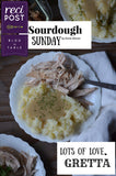 "Crock Pot Fall-Apart Turkey with Potatoes and Gravy ""Crockpot"" ""Sourdough Sunday"" Recipost"