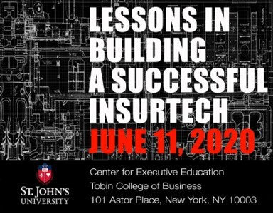 POSTPONED - STAY TUNED: Lessons in Building an Insurtech