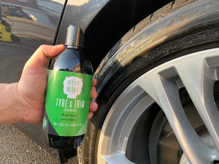 Tyre & Trim Finishing Gel - The Devil's in the Detail