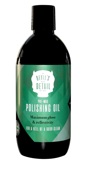 Polishing Oil (Pre Wax) - The Devil's in the Detail