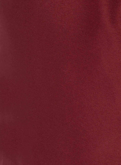 Women's Slim Fit Scrub Pants in bold burgundy