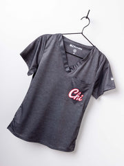 "Women's ""Chitown"" Scrub Top"