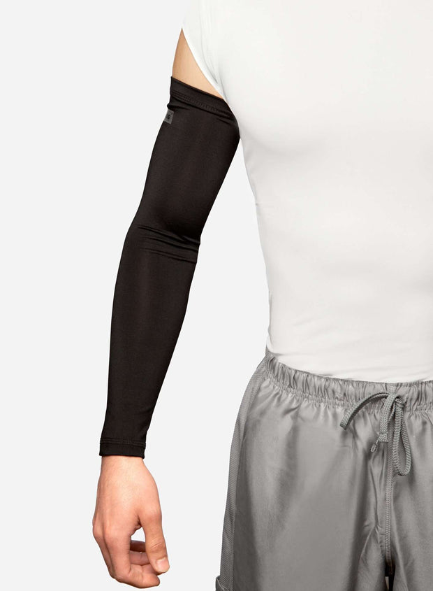 OSHA Black Arm Sleeves on Man