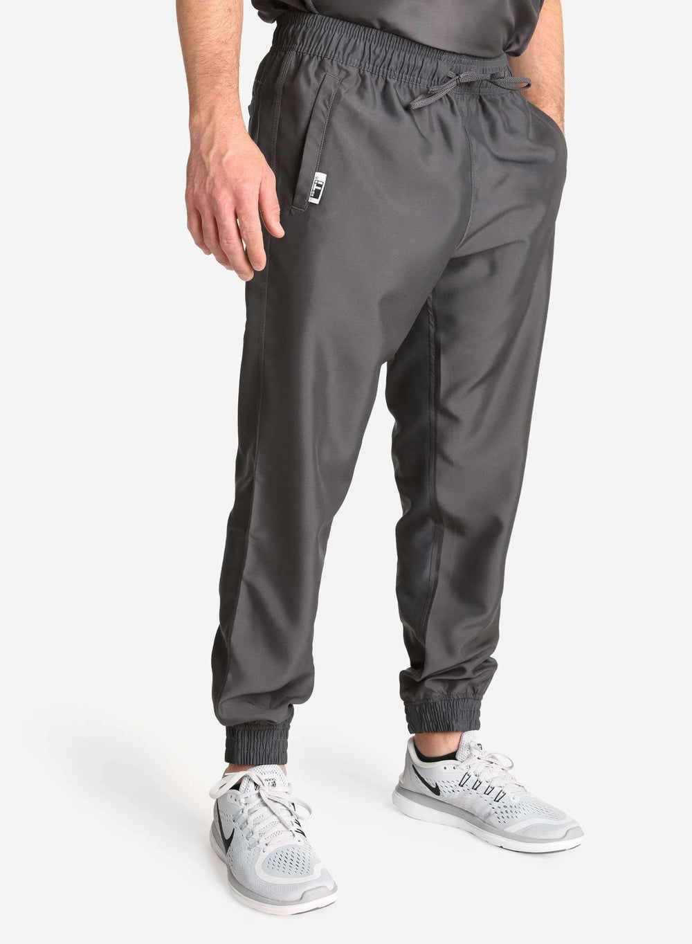Men's Jogger Scrub Pants in Dark Grey