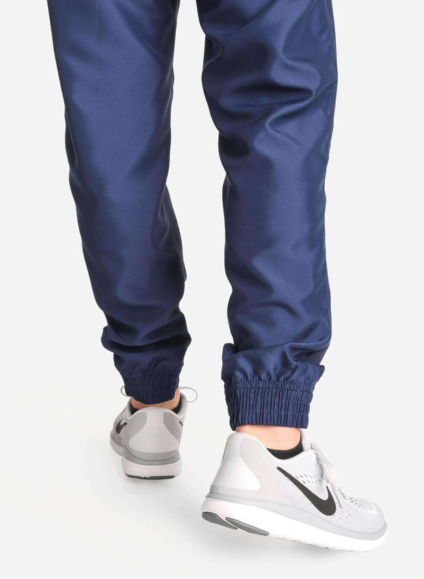 Men's Jogger Scrub Pants in Navy Ankle Cuff View