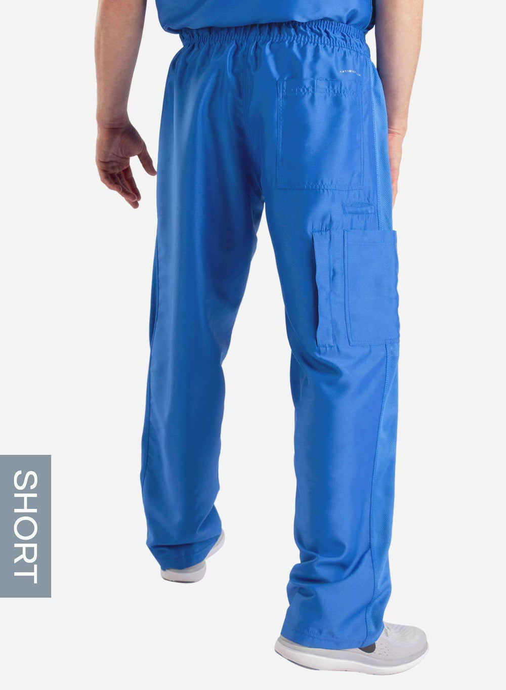 Men's Relaxed Fit Scrub Pants | Short