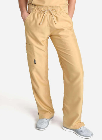 Men's Slim Fit Scrub Pants | Short
