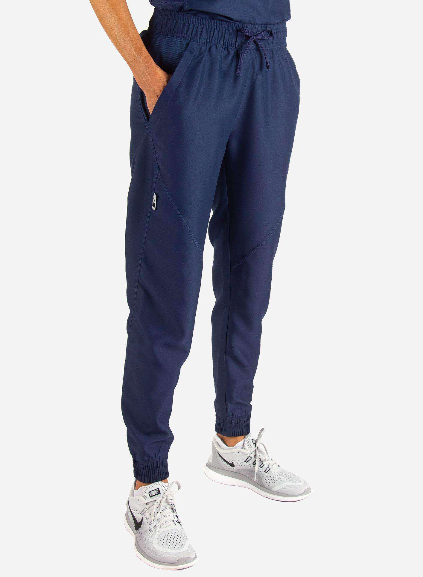 Women's Jogger Scrub Pants in Navy