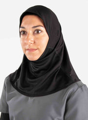 Athletic women's medical hijab