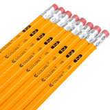 Colore #2 Pencils With Eraser Tops - Suitable For Kids & Adults - 144 Count