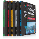 Colored Pencils Pre-Sharpened Color Pencil Set, 60 Vibrant Colors