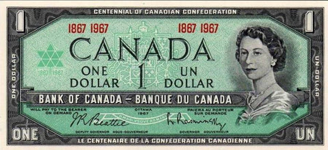 Free Canadian Dollar Bill