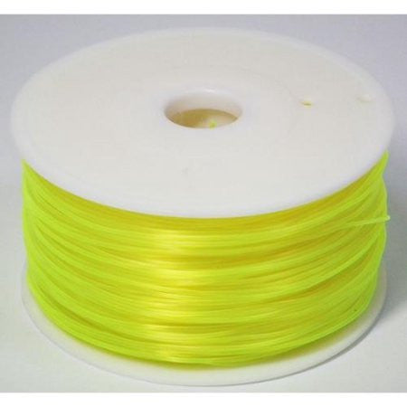 N3D-PLA-T-Ye 3D Printer PLA filament 1.75mm 1kg spool - Yellow (Transparent color) for 3D Printing