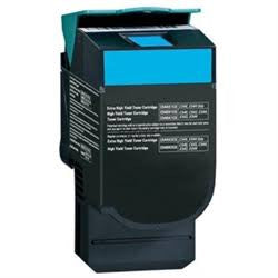 C544X2CG Cyan Toner Cartridge for C544