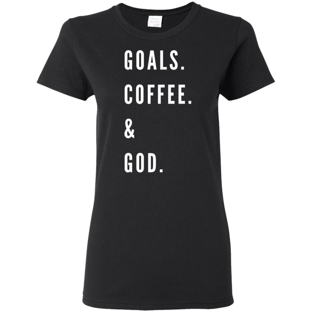 Goals, Coffee & God Tee