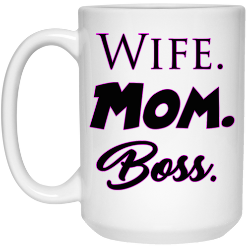 Mug - Wife Mom Boss