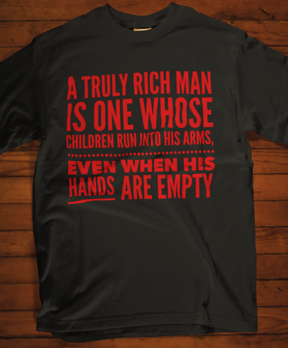 Dad - A Truly Rich Man