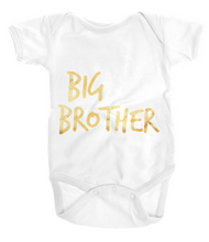 Baby - Bodysuit One Piece Gold Big Brother Tee