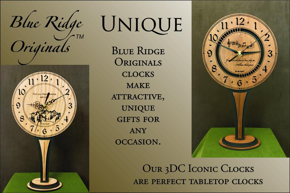 Custom Lasering transforms your clock to a favorite gift!