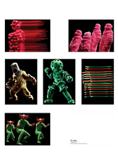 CHEMICAL BROTHERS NEON LIGHTS POSTCARD SET