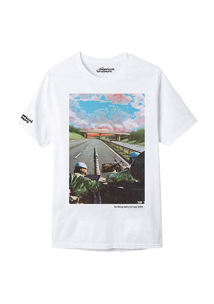 NO GEO 2019 TOUR WHITE T-SHIRT
