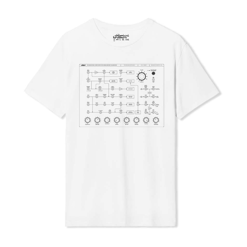 THE CHEMICAL FAMILY WHITE T-SHIRT (2ND EDITION)
