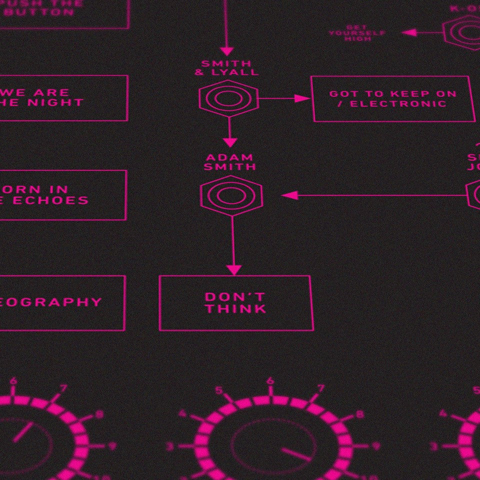 THE CHEMICAL FAMILY SCREEN PRINT - THE DESIGN MUSEUM EDITION