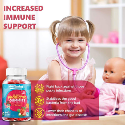 JoySpring KidBiotic Probiotic Gummies