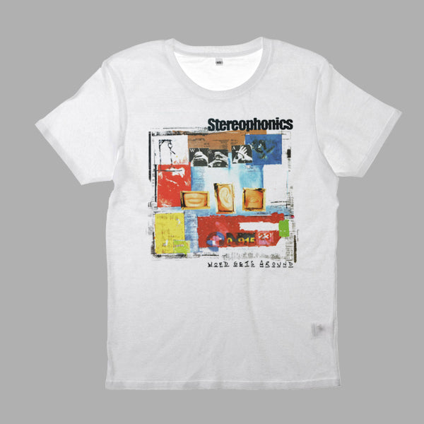 WORD GETS AROUND ALBUM WHITE TEE