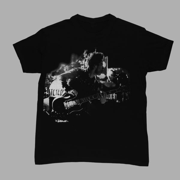 KELLY GUITAR BLACK T-SHIRT