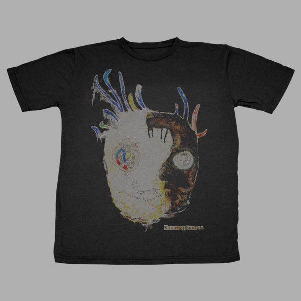 BLACK NANA HEAD MENS TSHIRT