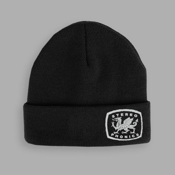 BLACK DRAGON BEANIE