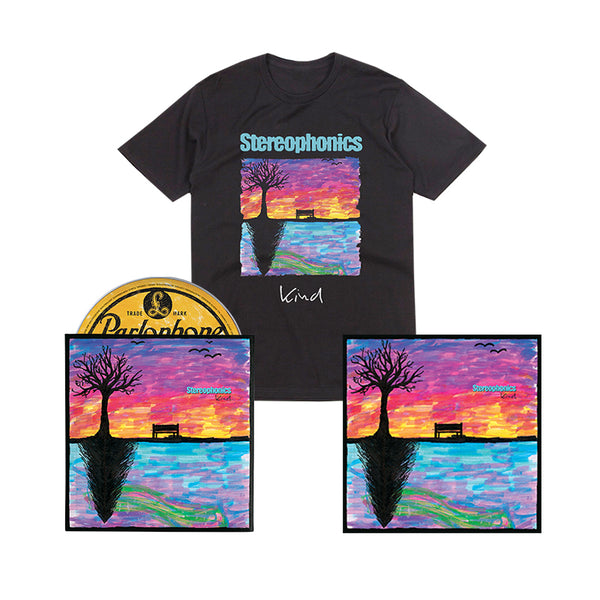 KIND - DELUXE CD (SIGNED LIMITED EDITION) + T-SHIRT+ PRINT