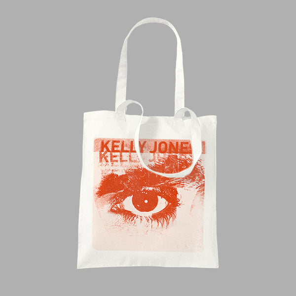 EYE WHITE TOTE BAG