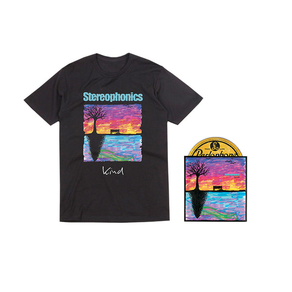 KIND - DELUXE CD (SIGNED LIMITED EDITION) + T-SHIRT