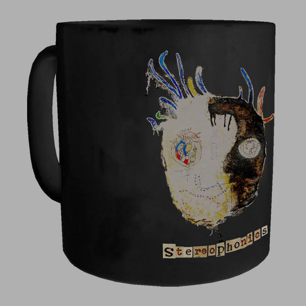 BLACK NANA HEAD MUG