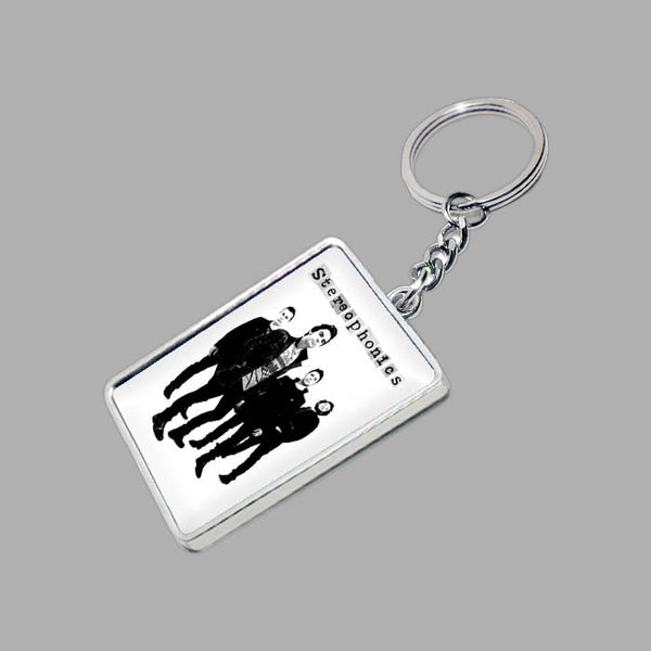 RECTANGLE METAL KEY RING